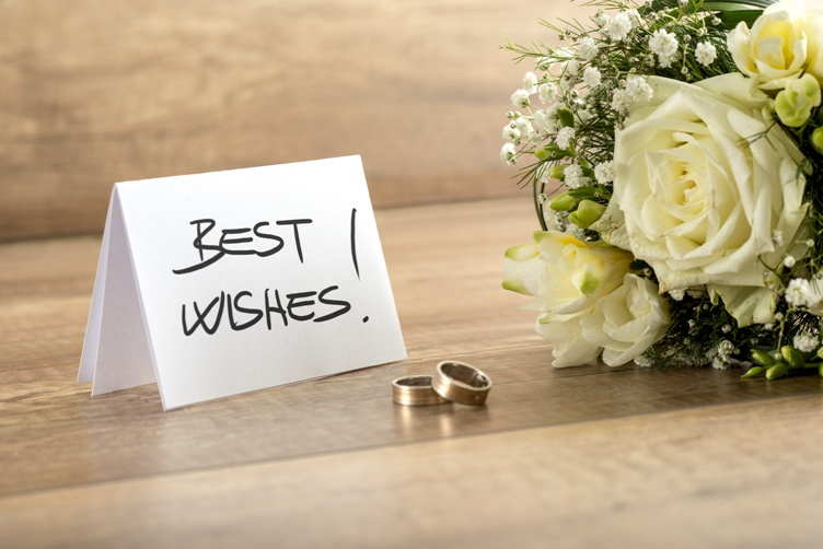 The best wedding wishes you will fall in love with
