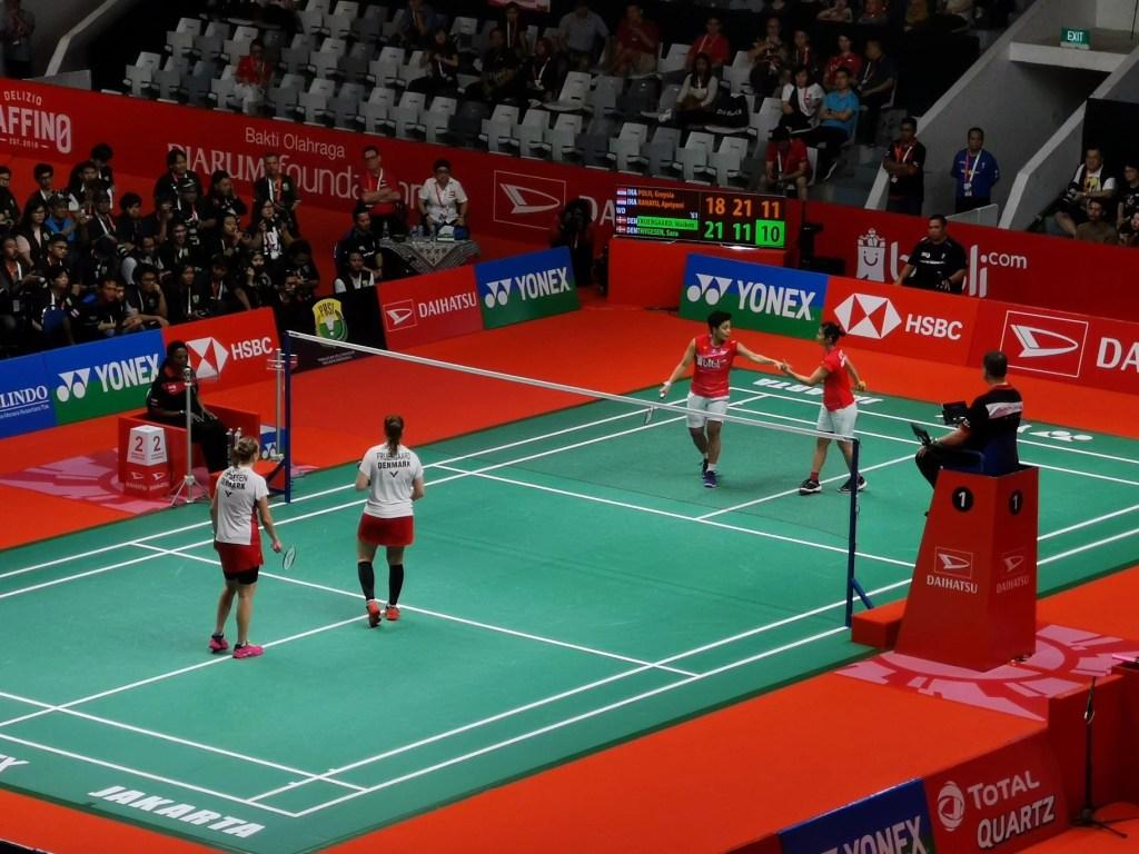 Ganda Putri, Final Badminton Indonesia Master 2020