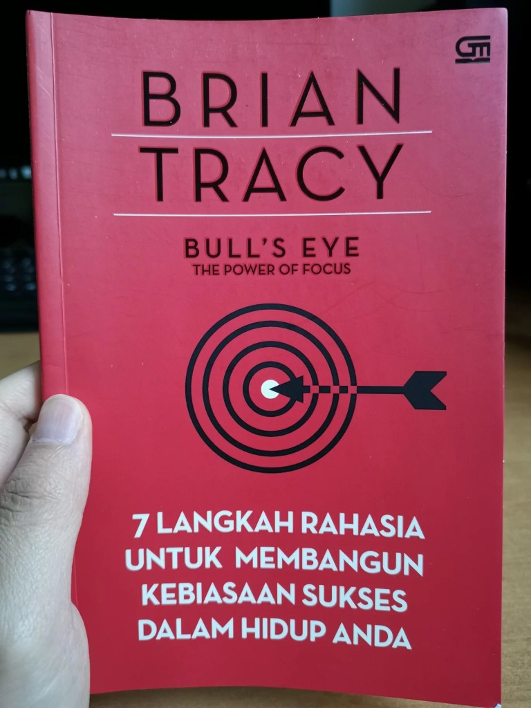 Cover Bull's Eye - The Power of Focus, Brian Tracy