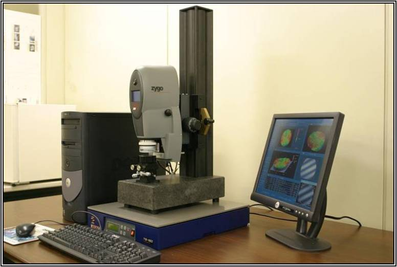 Zygo NewView Interferometer installed on TS-150