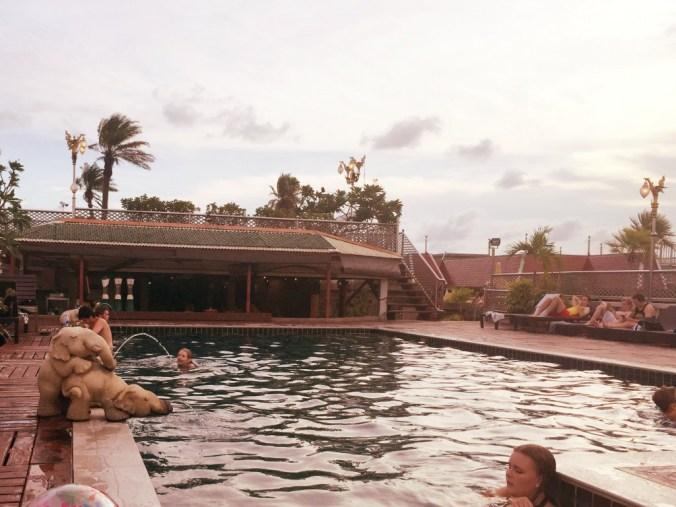 Pool auf Dachterasse