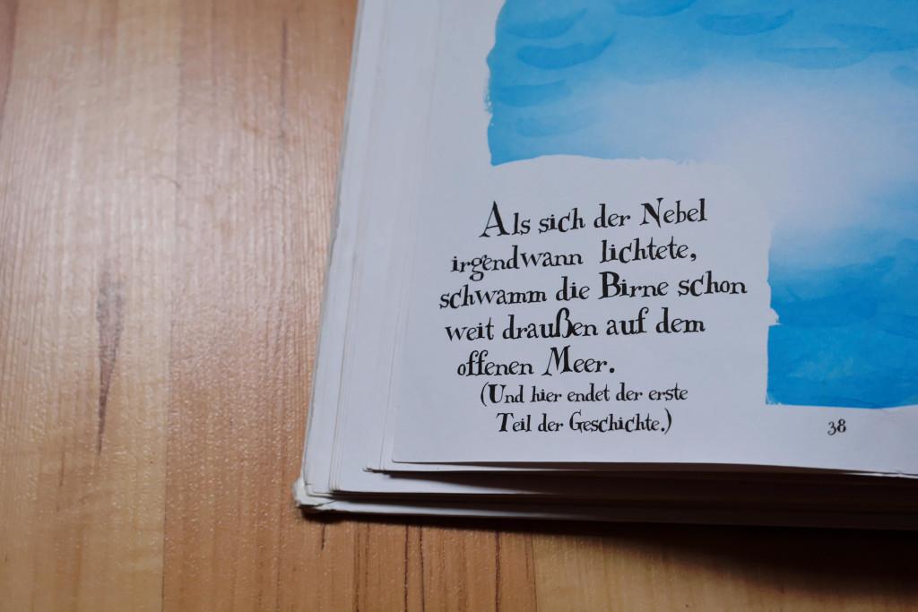 Detail Bilderbuch Riesenbirne