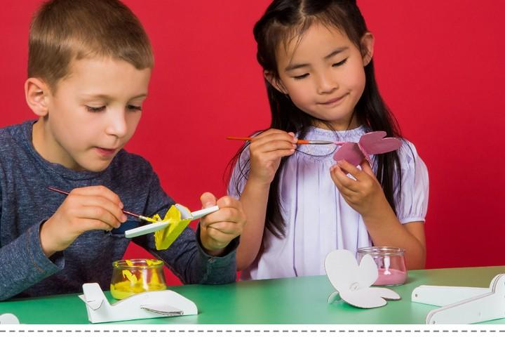 Kreative Spielzeug aus Pappe Bibabox