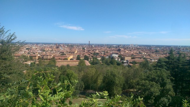 The Rooftops of Bologna