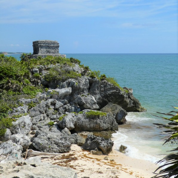Mexico Tulum Ruins and Beach by hesaidorshesaid