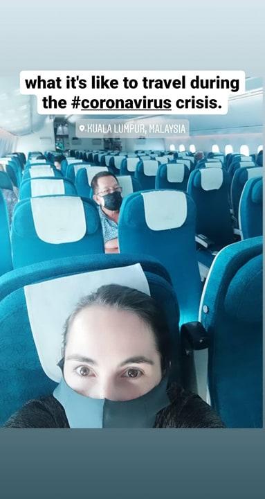 flying during the coronavirus