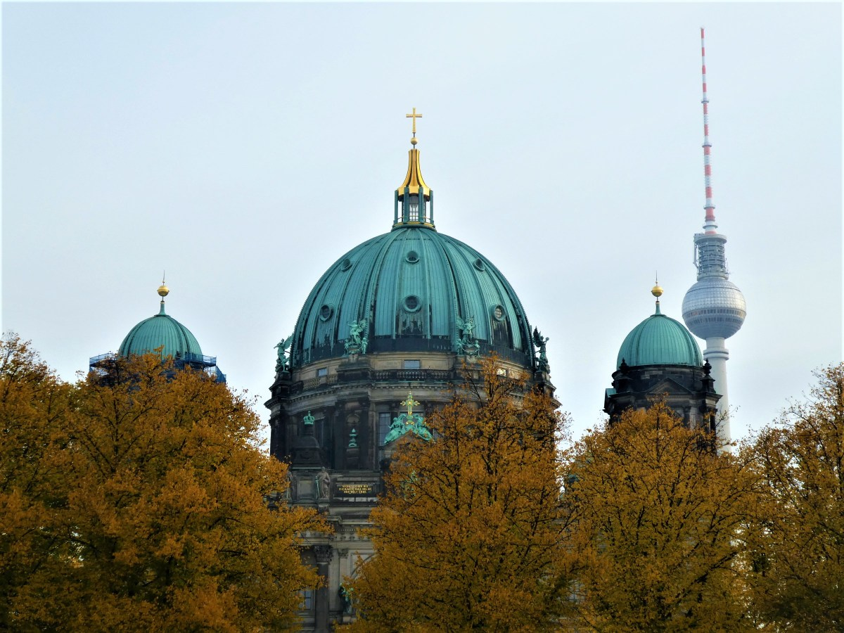 Berlin Cathedral in the Fall