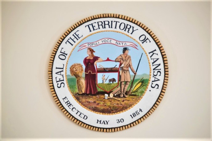 Kansas territorial seal (credit: unmistakably lawrence)
