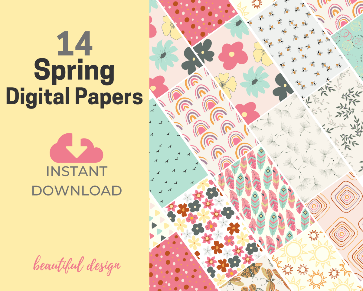 Spring Digital Papers Teaser