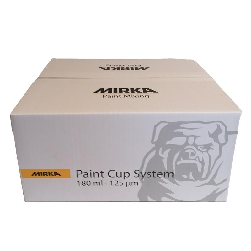 Mirka Paint Cup System 180ml 125µm