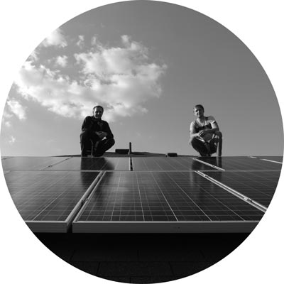 HE Solar LLC Founders, the Hoffman Brothers