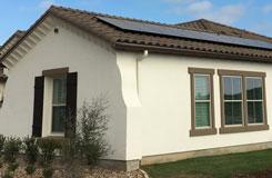 residential solar on a Spanish Tile roof