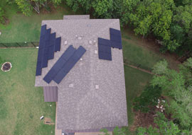 Black on Black SunPower 250W AC panels that were changed to SolarEdge