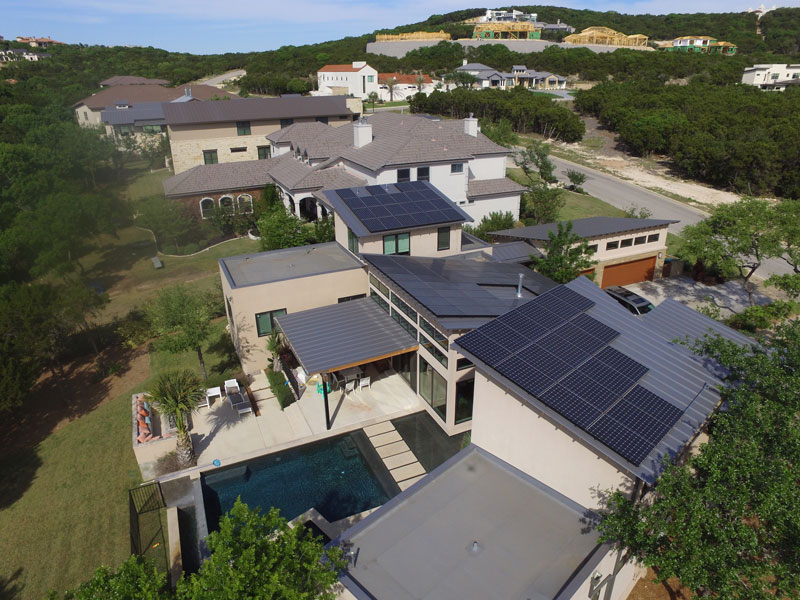 Solar Panels installed on a home in San Antonio TX