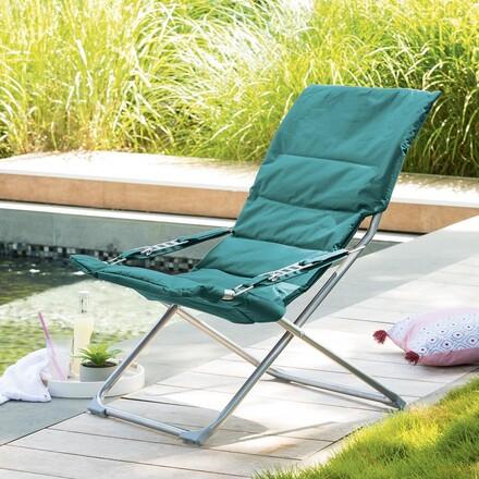 fauteuil relax de jardin chaise relax