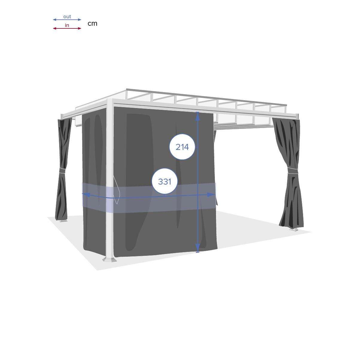 https www hesperide com tonnelle parasol tonnelle pergola store toile rideaux moustiquaire rideaux pour tonnelle belize ardoise 78027 html
