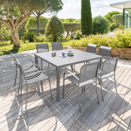 tables de jardin carree hesperide
