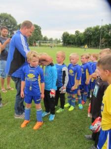 Medaillenübergabe an die G-Jugend des FC Süd-Elm