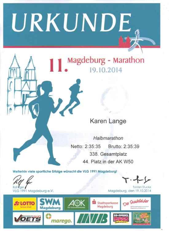 Halbmarathon MD