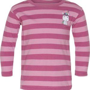 Equipage Ginger langærmet børne t-shirt med enhjørning
