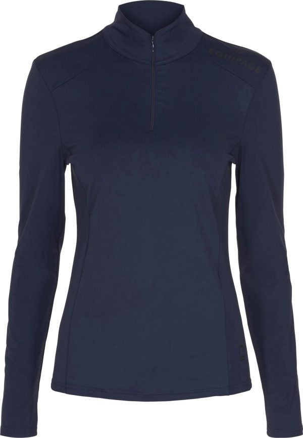 Equipage Grace ridebluse navy
