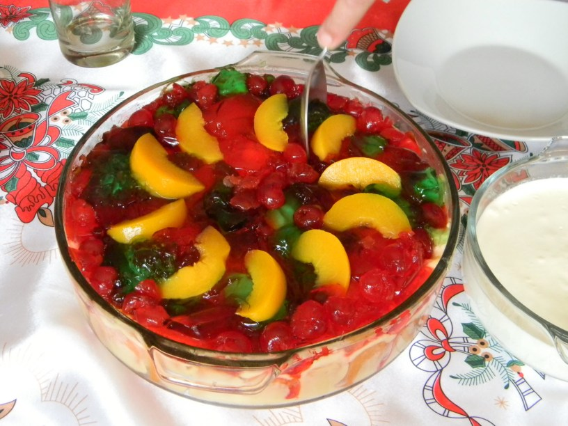 Trifle pudding for Christmas