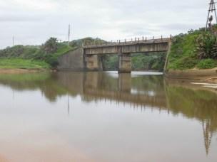 Mvusi River between Elysium and Ifafa