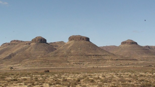 Three Sisters, Upper Karoo, Northern Cape, South Africa