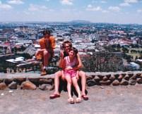 Bloemfontein 1993 Naval Hill met die stad in die agtergrond