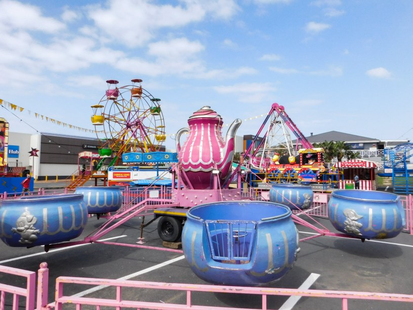 Colorful funfair in Shelly Beach, KwaZulu-Natal