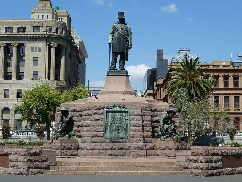Paul Kruger standbeeld Pretoria Kerkplein