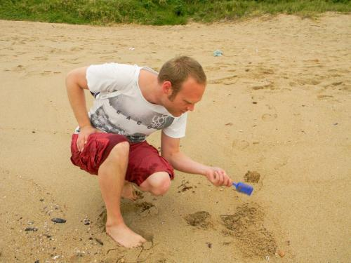 Playing in the sand (even at the age of 30+)