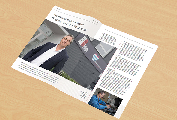 Magazine het it mockup