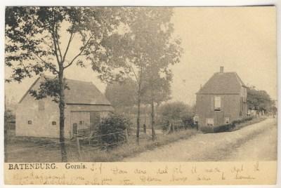 De Gordenaars, aan de Liendense Dijk in Batenburg, in 1905