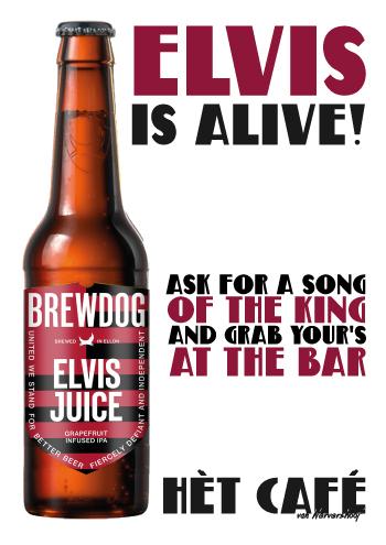 Elvis, Alive, Wervershoof, Het Cafe, Het Bier- en Muziekcafe