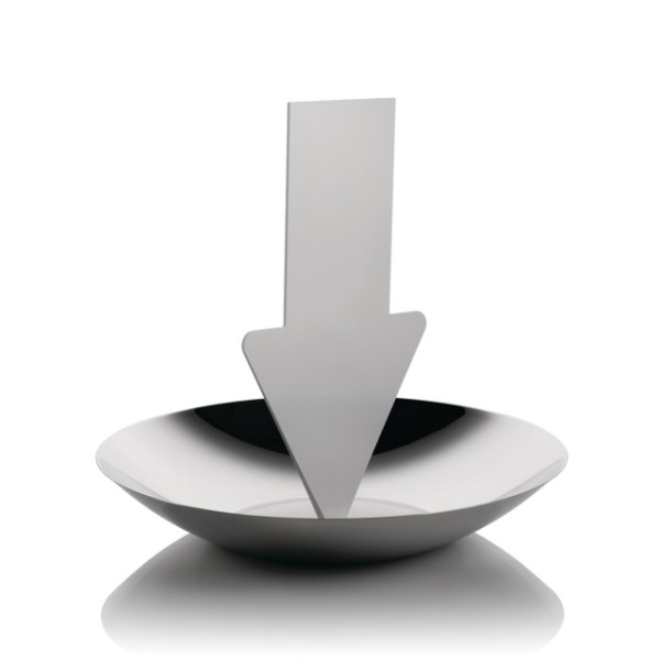 Alessi Communicator Arrow fruitschaal met memobordje