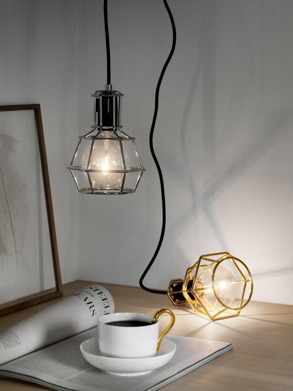 Design House Stockholm Zwarte Worklamp