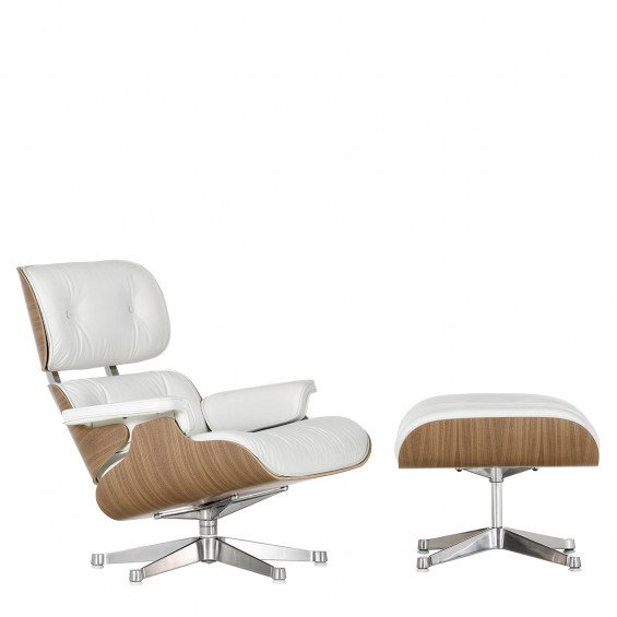 Vitra Eames Lounge Chair wit
