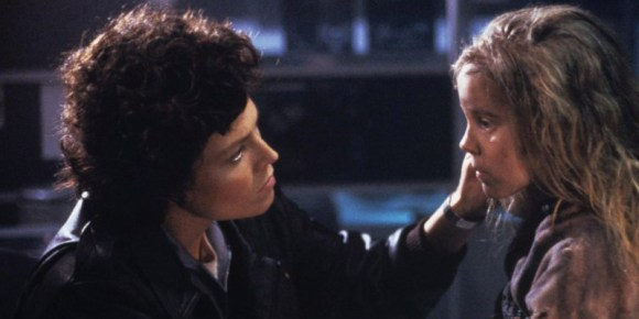 Sigourney Weaver dans Alien (1986)