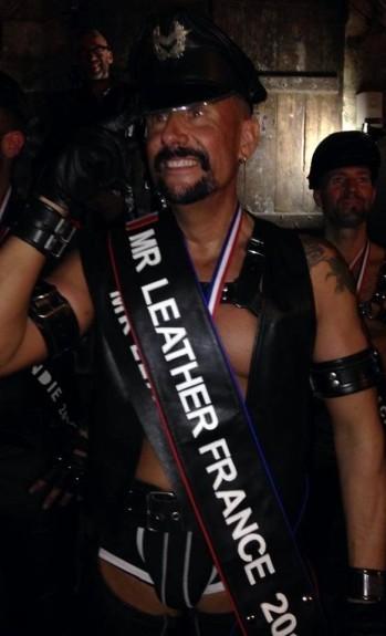 Karl, Mister Leather France 2014 mister leather rhône-alpes 2015
