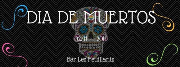 dia de muertos bar les feuillants 2 novembre 2017 Association LGBT de Lyon 2