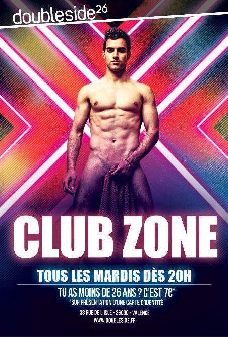 Soirée Club Zone double side valence
