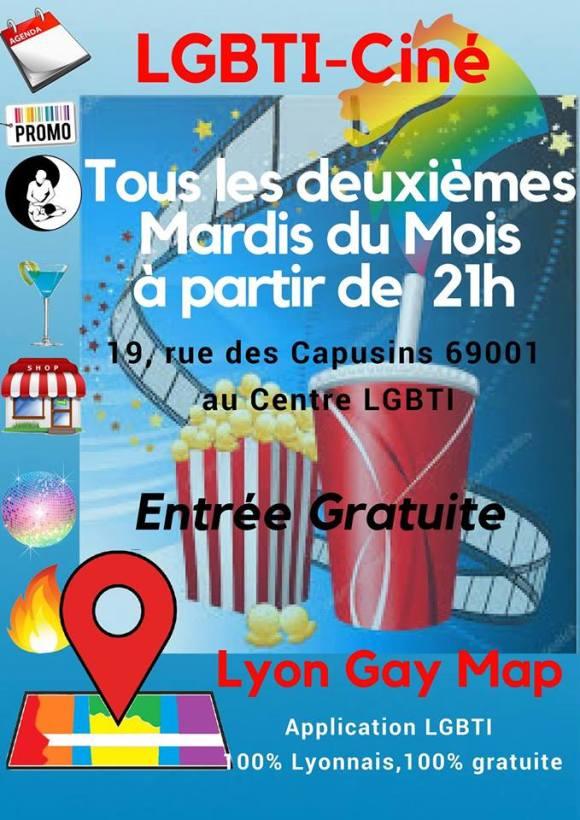 Le ciné de lyon gay map tous les deuxièmes mardis du mois centre lgbti de lyon entre libre