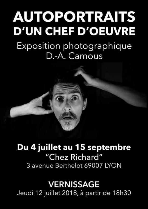 Autoportraits d'un Chef d'œuvre David-André Camous Chez Richard Hétéroclite Lyon