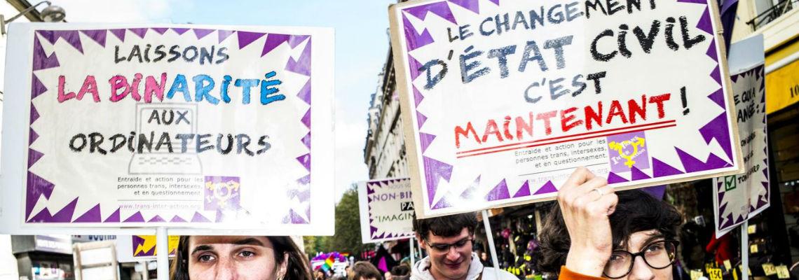 OMS transsexualité © Martin Colombet pour Libération Hétéroclite juillet 2018