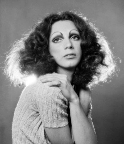 Holly Woodlawn © Jack Mitchell - Pierre Maillet