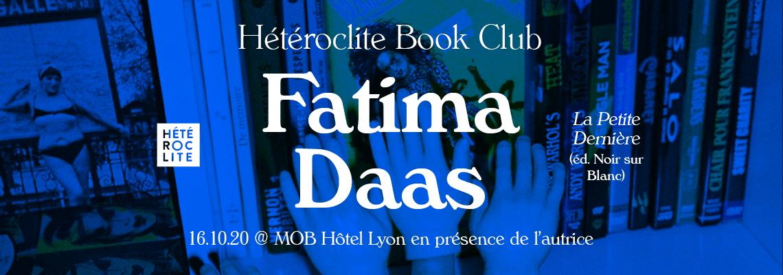 Fatima Daas Hétéroclite Book Club
