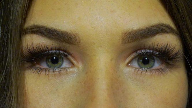 eylure lash pro individuals wimperextensions op ogen met make-up