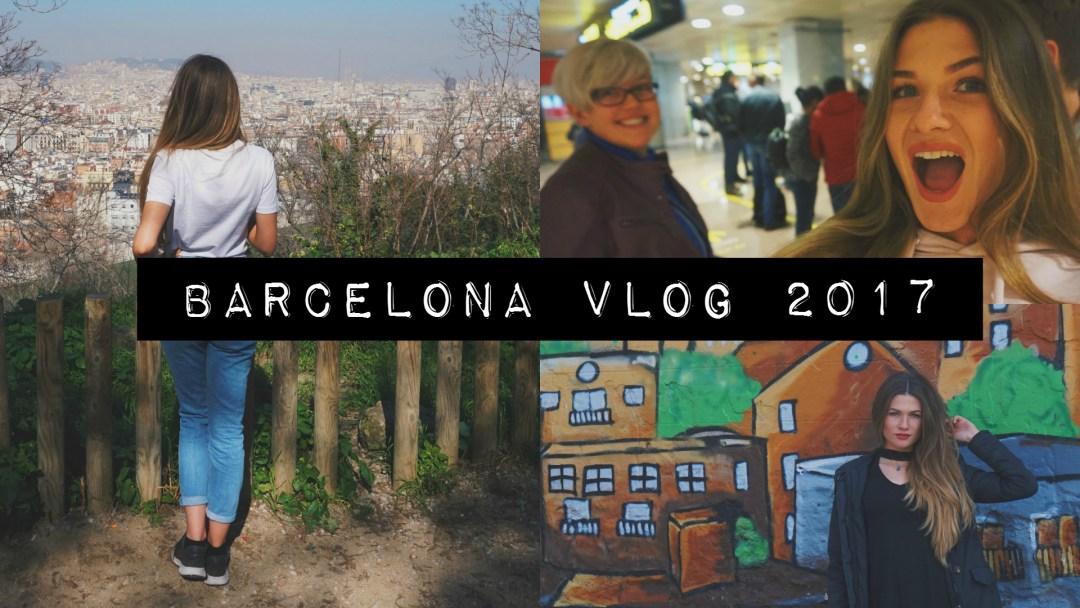 Iris in Barcelona vlog thumbnail 2017 uitzicht