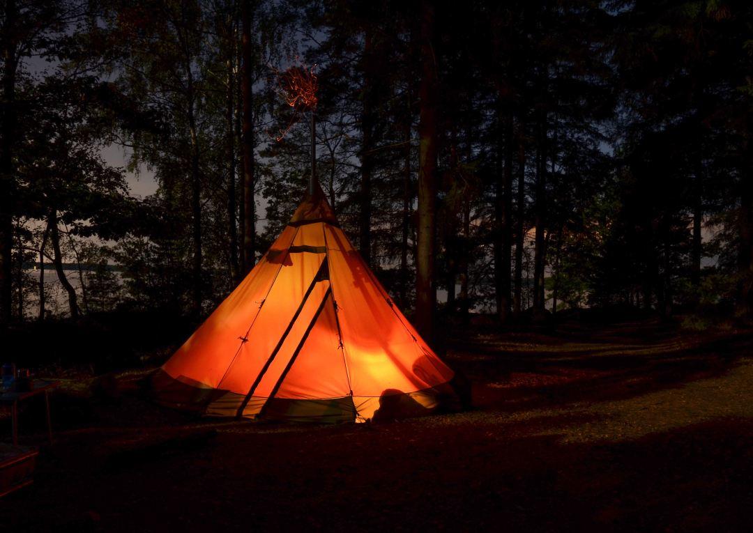 Camping festival paklijst kamperen tent